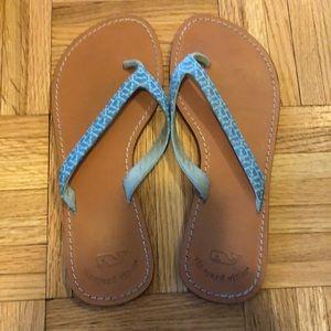 Gently worn sandals